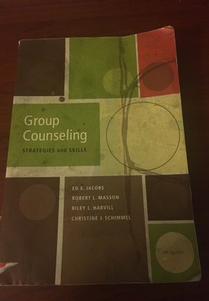 Group counseling strategies and skills 7th edition