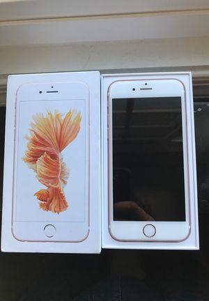 Unlocked iphone 6s 128gb rosegold