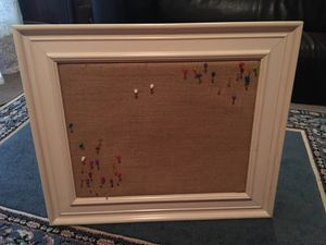 IKEA Burlap Board/Frame