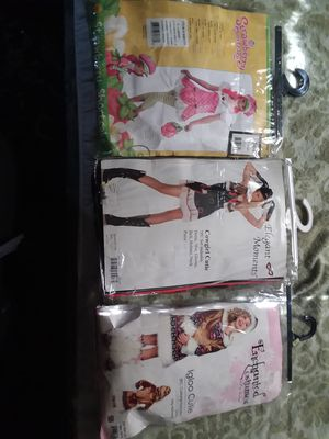 3 girl costume