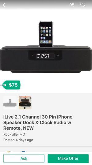 iLive 2.1 Channel Speaker Dock