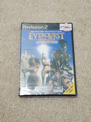 Everquest Online Adventures Playstation 2 Sealed