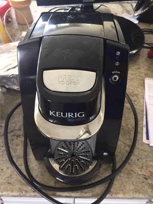 Keurig - black and silver