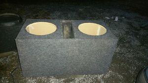 Custom built speaker box for 15's