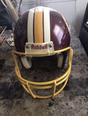 Authentic Riddell Redskins Helmet Signatured
