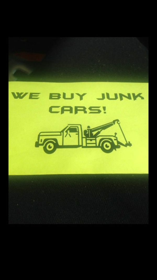 Need cash ?? Got junk ?? We pay top dollar for all junk vehicles ...