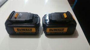 Brand new 20v dewalt batteries