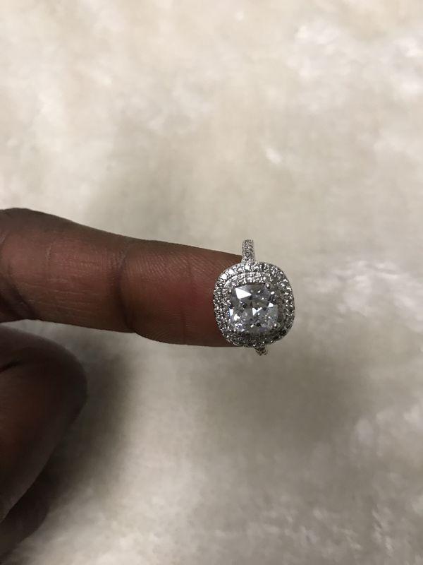 Diamonique Wedding ring white shine 029 Jewelry Accessories in
