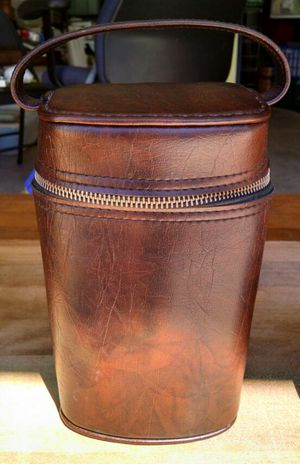 Vintage Willse Leather Carrier