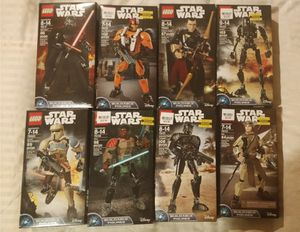 Brand New Star Wars Lego Action Figures