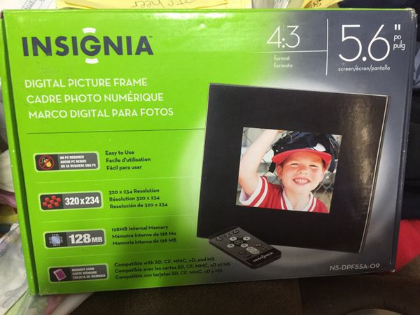 Insignia digital picture frame (Photography) in Longview, TX - OfferUp