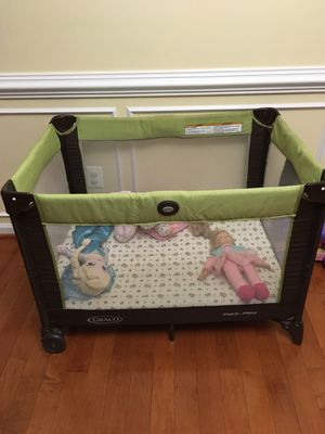 Graco pack n play with mattress,waterproof protector and cotton fitted sheet