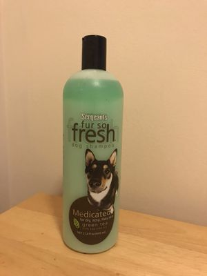 Medicated dog shampoo