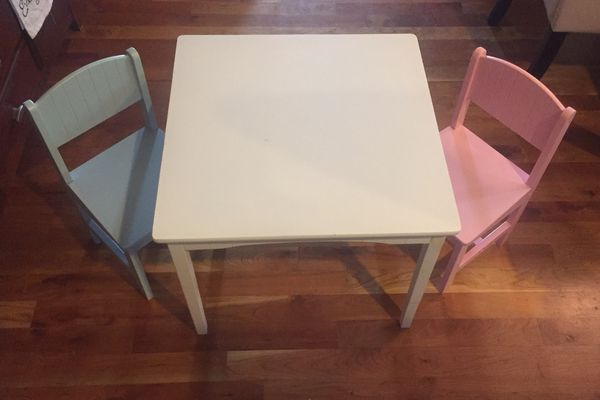 467ec63d6ad Kiddie Table (white) and 2 chairs (Baby   Kids) in Westminster