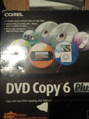 Corel DVD 6 software