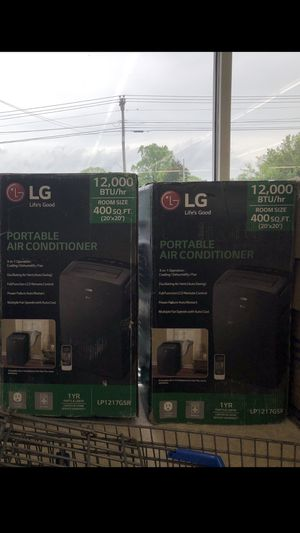 Lg portable air conditioners