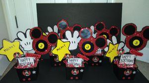 Mickey centerpieces