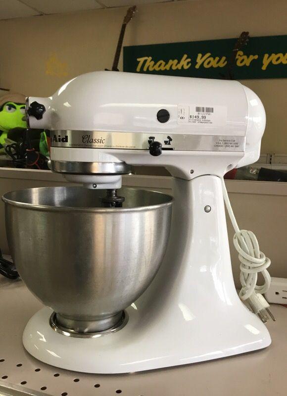 KitchenAid 250watts White Stand Mixer
