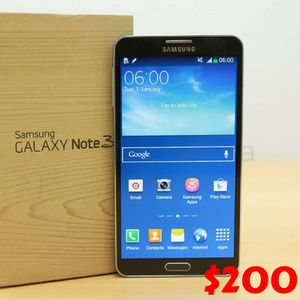 Samsung Galaxy Note 3 - Factory Unlocked - Comes w/ Box + Accessories