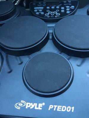 Pyle PTED01 Drum Machine Practice Studio Live Recording Beat Maker