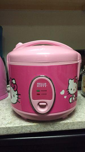 Pink Hello Kitty Rice Cooker