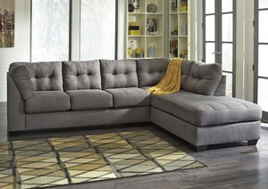 2 piece grey sectional