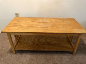 Solid Wooden Rectangular Table