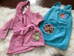Baby Clothes - Bath Robes 3-12 months