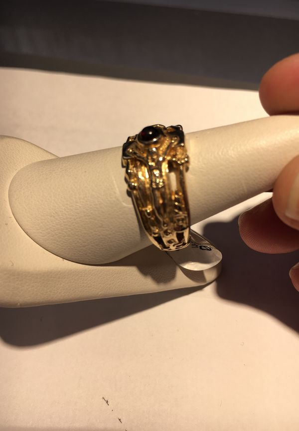 James Avery 14k Martin Luther cross ring Retired Jewelry
