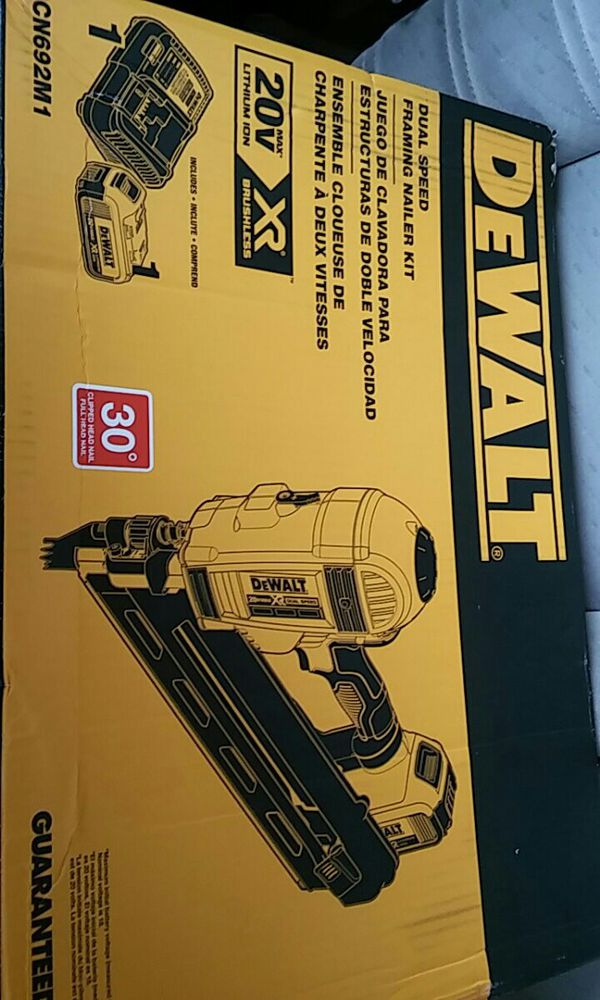 Dewalt dual speed framing nailer (Tools & Machinery) in Puyallup, WA ...