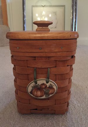 Pumpkin Charm Basket