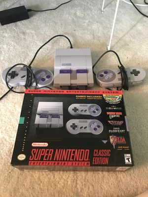 SNES Classic (Brand new condition)