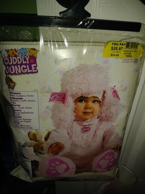 Disfraz de niña de 6 a 12 meses