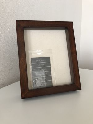 Pottery barn box picture frame
