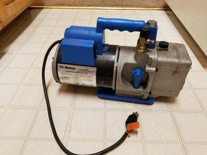 Water pump vaccum