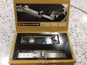 Shure precision stylus force gauge model SFG-2
