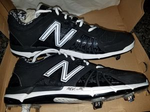 NB Baseball Cleats - metal 12D