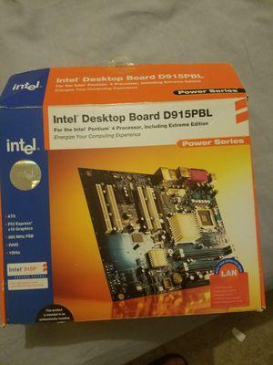 Intel desktop board d915pbl