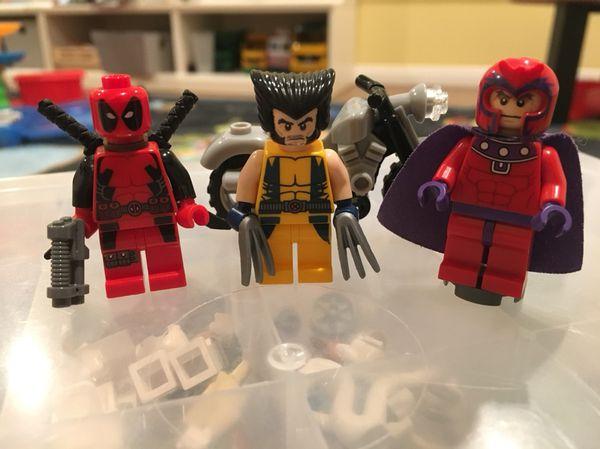 Lego 6866 Wolverine Chopper Showdown with Deadpool (Games & Toys) in ...