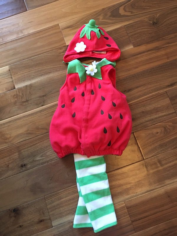 strawberry halloween costume - Strawberry Halloween Costume Baby