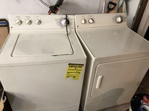 Used GE washer & dryer set. Works great!