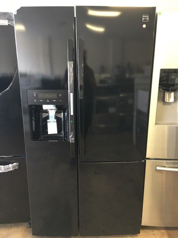 kenmore 51833. kenmore 51833 26.1 cu. ft. side-by-side refrigerator w/ grab