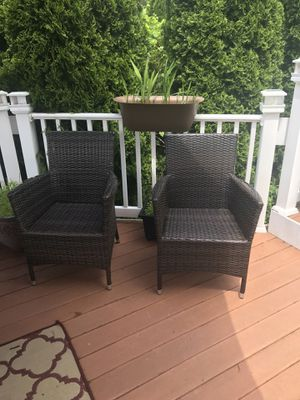 2 Deck/Patio Chairs