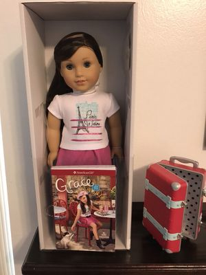 "American Girl ""Grace"" W/Suitcase"