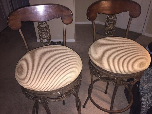 2 Nice Bar Stools Furniture In Greenville Sc