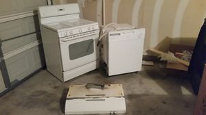 200 gas stove dish washer and hood