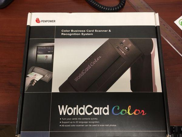 Penpower worldcard color business card scanner with organizing penpower worldcard color business card scanner with organizing software colourmoves