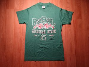 Vintage 1988 Michigan State Rose Bowl T-Shirt