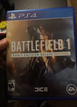 Battle field 1 early enlisted deluxe edition
