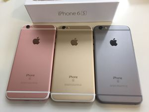IPhone 6s (16/64gb) Factory Unlocked - 1 Month Warranty